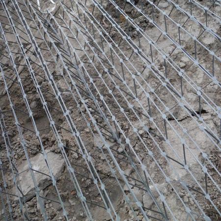 Ischebeck TITAN jordnagler – Krismer 3D stålnett