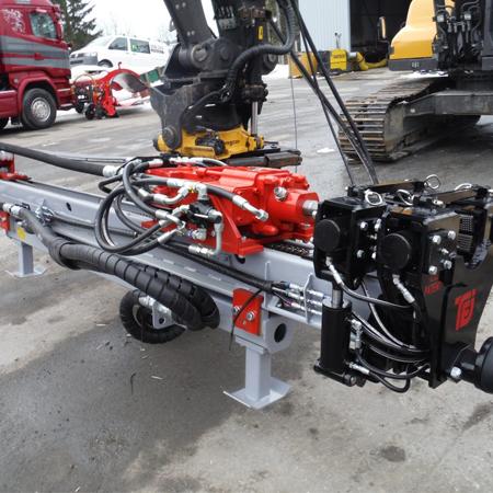 TEI Rock Drills HEM560 Boremast