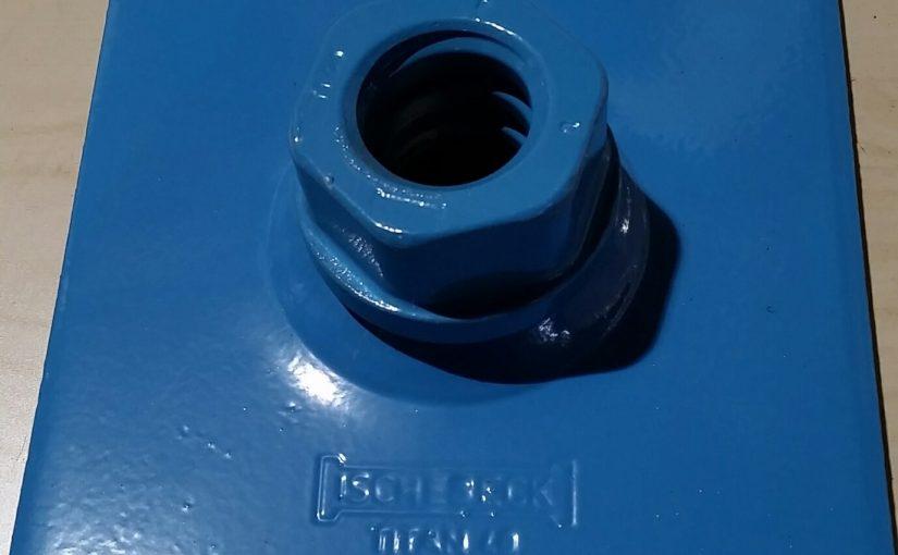 Duplex Coated plate og låsemutter Ischebeck TITAN